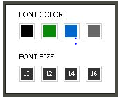 How to Add Font and Color Changer for Blogger