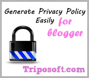 TS Privacy Policy Generator for Blogger