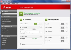 Here, I have come with Top 3 Antivirus for your Windows 8 and for your PC. As you know Antivirus is must have software for a Computer. Antivirus Software protect computer from a multitude of Virus like Trojan, worm, adware, spyware, keylogger, rootkit and other related problems. Now most of the Antivirus software will not perform this.They performs all tasks to remove malwares, viruses and spywares from your computers. So it's a right time to visit my site in search of top three antivirus.If you are in search for your Windows PC, you are at the best place.In this article I am going share the Top 3 Antivirus for your Windows 8 and for your PC.And you can able to download the free Antivirus software given below to make your computer virus protected.Lets see the best and toppest antivirus for your PC.   1. Microsoft Security Essentials     Microsoft Security Essentials is a best free Antivirus Software from Microsoft itself.(i.e) the creator of Windows OS like Windows Xp,Windows 7,Windows 8. Microsoft Security Essentials has some negative features. The main thing of this antivirus is to remove malware from your PC very well.And this is a best choice for average users just because of its simple and user friendly interface which was included in this software. You don't need to register at Windows to use this antivirus in your PC. It automatically updates and removes all threats in your computer      Click Here to Download Microsoft Security Essentials from Official website .  2. Avira Free Antivirus   Avira Antivirus is another high qualify free antivirus but which is not like Microsoft Security Essentials.. Avira AntiVirus Personal Edition has many cool features that makes your computer safe. The main thing about Avira Antivirus is its simple and userfreindly interface which was included in this software and also it can enhance the user experience. Avira AntiVir is a good choice as antivirus scanner. There is only negative feature with Avira antivirus.That is it does no