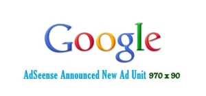 Google is making some updated in all the thing.Recently Google Updated the Commenting Sysytem in Blogger with Google+. And now Google announced another [970 x 90] Horizontal Large Leader board Unit.Some time before Google introduced the 300 x 600 ad unit.And these updates will allow anyone to display their ads on wide range which results in the attraction of visitors.But this new unit is some what like the old [728 x 90] ad unit.It is only different in its size.And we are using [728 x 90] in our header or at the bottom of the blog.Like [728 x 90] ad unit,this new [970 x 90] ad unit can also be placed at the top or at the bottom for more impression.   See the bellow image to see the original size of the new ad unit. This new ad unit will display only text based ad's for some day,because the advertiser will take some time to submit their images to be displayed in this new ad unit [970 x 90] format.You can add only 3 ad unit in a page. So if you think you have a place to fit this ad unit in your blog ! Then place it right now for more clicks and impression.  For adding it in your site, just go to your AdSense account and under My Ads create a new 970 x 90 ad unit.Then copy the code to your website. Enjoy! Hope you enjoy this new update from Google AdSense Team.Share your thoughts in comments!