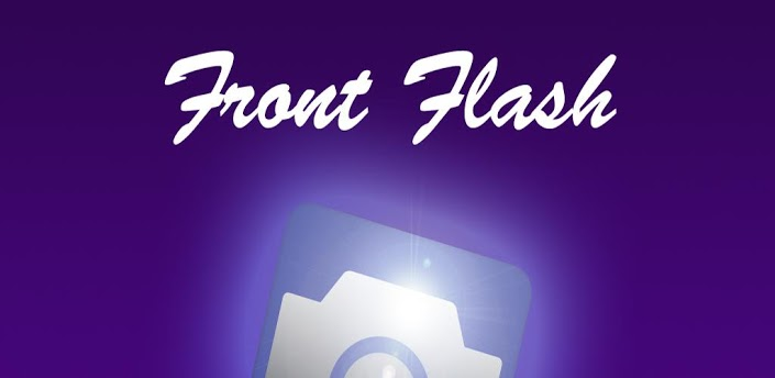 Make Your Front Camera To Flash Using Front Flash