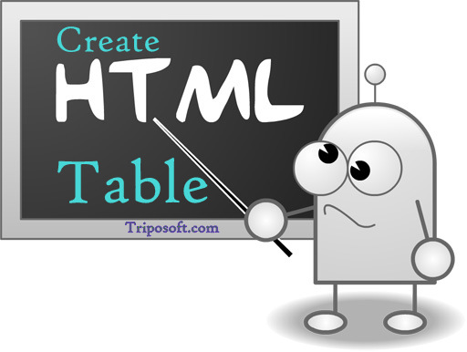 How to Easily Create Tables in Blogger using Simple HTML