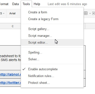 Learn How to Use Twitter as a Gmail notifier and get SMS Notification