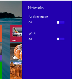 How to Turn on Wifi Connection in Windows 8.1