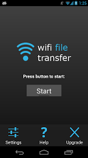 How To Send Files From Android Device To PC's Using WiFi