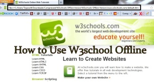 How to W3Schools Website For Offline Use by Downloading the Full Website