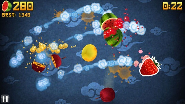Download Fruit Ninja HD Game for Computer