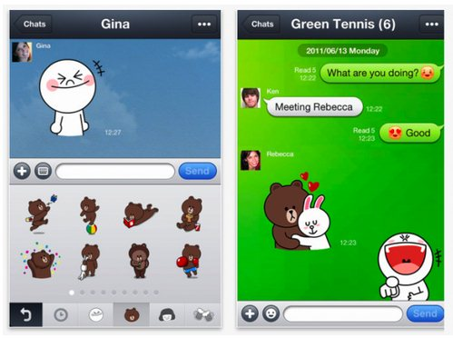Download Line App for All Nokia Asha Series Mobiles