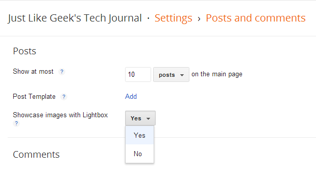 How to Disable/Remove Lightbox in Blogger
