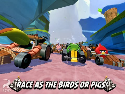 Download 'Angry Birds Go!' Racing Game for iOS Devices