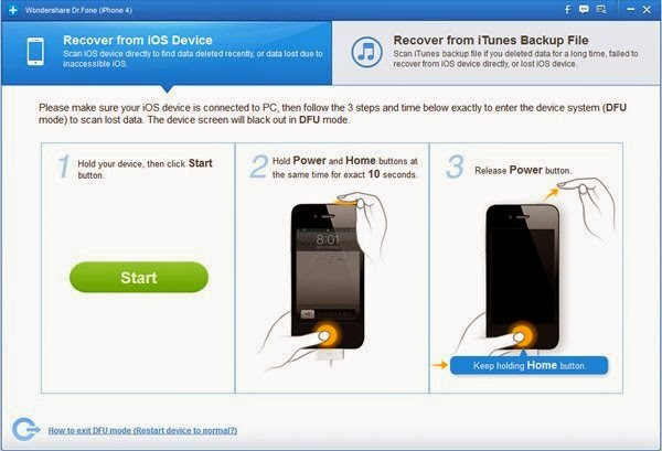 How to Restore Deleted/Lost Text Messages from iPhone
