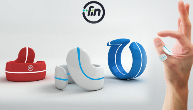 A Bluetooth Ring, Turns your hand to an Interface!