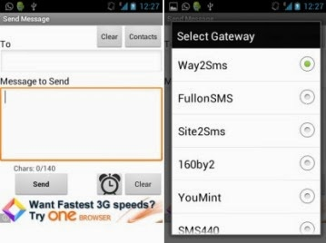 5 Best Android Apps to Send Free SMS in India 2014