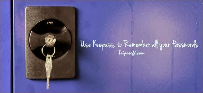Use Keepass, to Remember all your Passwords and to Track them Safely