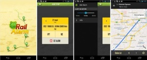 Download Rail Alarm App for having good sleep while Traveling in Indian Trains
