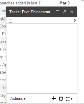 Creating a To-Do List [Task] in Gmail