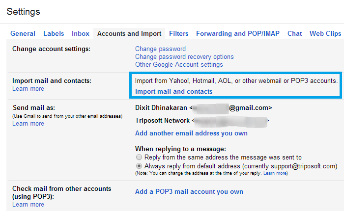 Forward all Yahoo, AOL, Hotmail Emails to your Gmail Account