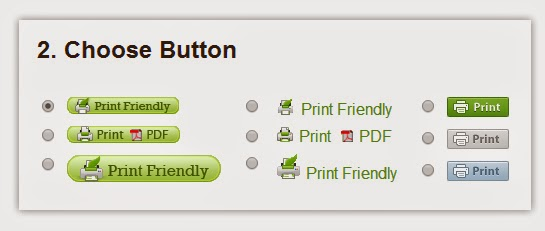Add Print Button Under Blogger Posts with PrintFriendly
