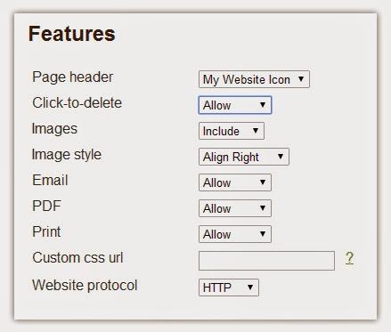 Add Print Button Under Blogger Posts with PrintFriendly