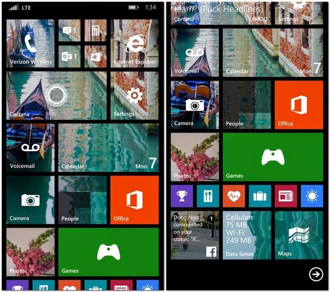 update windows 8.1 os on windows phone