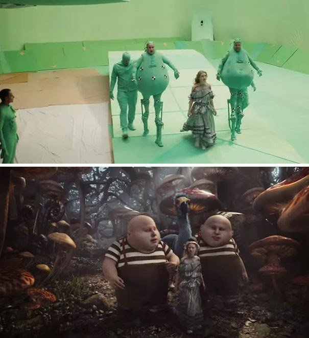Amazing Before & After VFX Shots From Popular Hollywood, Bollywood Movies