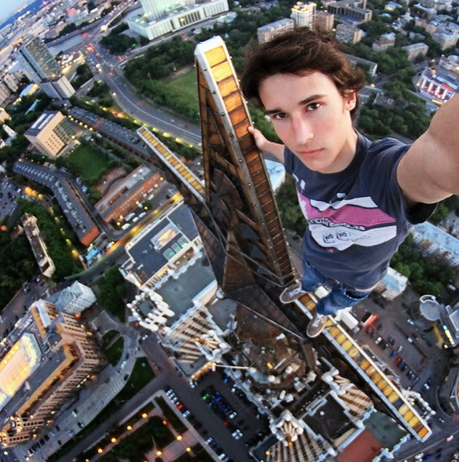best selfies in the world Kirill Oreshkin