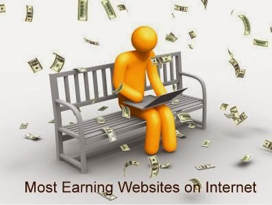 Top 30 Most Earning Websites on Internet around the World 2014