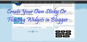 "Most big blogs have sticky widget that scroll along when visitors move up and down at the top or at the bottom. The effect is usually applied to navigation menu,subscription box.Now in this article I am sharing How to Stick Widgets in Blogger ?This effect will make a widget float downward when visitors scroll down and stay on its original position when visitors scroll up and reach the widget position.Just place the position of that widget.     How To Add Sticky Widget in Blogger ?   Go to Template > Edit HTML Search for </body> and paste the following code above it.   <script> // Sticky Widget By triposoft.com //<![CDATA[ rb_makeSticky(""WIDGET ID HERE""); // enter your widget ID here function rb_makeSticky(elem) {     var rb_sticky = document.getElementById(elem);     var scrollee = document.createElement(""div"");     rb_sticky.parentNode.insertBefore(scrollee, rb_sticky);     var width = rb_sticky.offsetWidth;     var iniClass = rb_sticky.className + ' rb_sticky';     window.addEventListener('scroll', rb_sticking, false);     function rb_sticking() {         var rect = scrollee.getBoundingClientRect();         if (rect.top < 0) {             rb_sticky.className = iniClass + ' rb_sticking';             rb_sticky.style.width = width + ""px"";         } else {             rb_sticky.className = iniClass;         }     } } //]]> </script> <style> .rb_sticking {background:#f2f2f2 !important; position:fixed; top:0; z-index:9999; box-shadow:0px 10px 4px -5px rgba(0,0,0,0.3);} </style>    Just Replace WIDGET ID HERE with your widget ID.   How To Find Widget ID in Blogger ?   First Log-in into your dashboard. Then Right click on the edit icon. Just Copy the Link Location. You should be having something similar to the code given below   http://www.blogger.com/rearrange?blogID=****************&widgetType=HTML&widgetId=HTML**&action=editWidget&sectionId=crosscol  Copy the widget ID after the line &widgetId= and place it in the line specified above.   If you have any still doubt feel free to ask us by dropping an comment in comment box given.Stay Tuned at Triposoft.com"
