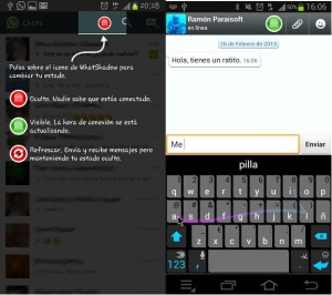 How to Hide Online Status on Whatsapp Chat by using Whatsapp Shadow Messenger App