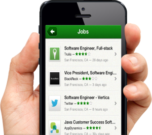 Android apps to find jobs